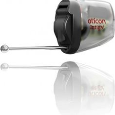 Oticon unveiled a new hearing aid designed in for first time hearing aid users that's effectively invisible when inserted into the ear. The Intigai