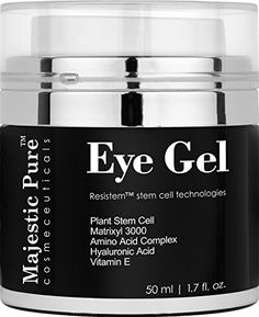 Majestic Pure Anti Aging and Skin Firming Eye Gel for Dark Circle, Wrinkles, Eye Puffiness, Loss of Tone and Resilience, 1.7 fl. oz. This is an all-in-one Type I eye cream. Regular Application of our eye gel formula makes the skin look younger. Rated 4.1 out of 5 stars,  3,724 customer reviews   #BEST SELLER in Eye Treatment Gels