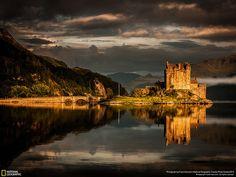 Castello di Eilean Donan, Scozia Fotografia di Frank Heumann