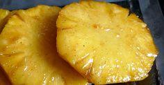 Ces belles tranches d'ananas couleur soleil sont le dessert idéal pour conclure un repas lorsqu'on n'a pas trop de temps. Il peut se faire ...