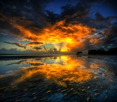 Nudgee Beach, Brisbane, Queensland, Australia