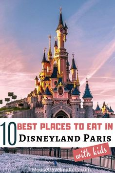 Which are the best places to eat in Disneyland Paris? With so many restaurants how do you choose which one to dine in. In this post you'll find recommendations for the best restaurants in Disneyland Paris to ensure you have great meals while in the parks. #disneylandparis #dlp #disneyparis#eurodisney #disneyfood Disney World Resorts, Disney Vacations, Walt Disney World, Disney Parks, Disney Land, Disney Travel, Family Vacations, Viaje A Disneyland Paris, Disneyland Paris Rides
