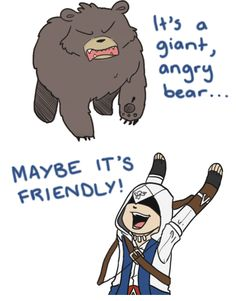 Maybe it's friendly! by Kiaraz on DeviantArt