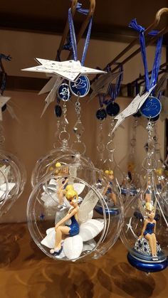Tinker Bell ornaments! Tinkerbell Wallpaper, Tinkerbell And Friends, Tinkerbell Fairies, Tinkerbell Ornament, Disney Christmas Ornaments, Christmas Fairy, Hallmark Ornaments, Christmas Decorations, Hades Disney