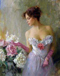 Illustration/Painting by Konstantin Razumov Woman Painting, Figure Painting, Foto Art, Beautiful Paintings, Figurative Art, Female Art, Amazing Art, Fantasy Art, Art Drawings