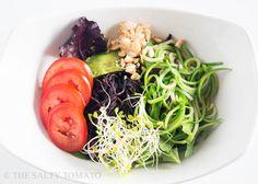 Beyond Ramen Salad #MeatlessMonday