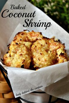 Lady Behind The Curtain - Baked Coconut Shrimp, Apricot pineapple salsa, dipping sauce recipe included!  T- okay this turned out amazing.. Just the right amount of spice, I used ground coconut fine not flakes and I know that made a huge difference so easy and good!
