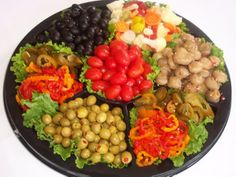 Now that a relish tray after my own heart. At least for a mid westerner like me.