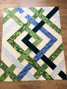 The Eliza Quilt Pattern (Kitchen Table Quilting) Batik Quilts, Jellyroll Quilts, Patchwork Quilting, Scrappy Quilts, Easy Quilts, Strip Quilt Patterns, Modern Quilt Patterns, Strip Quilts, Quilt Blocks