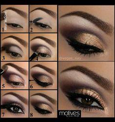 Eye make-up tutorial
