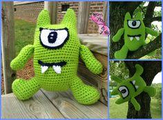 Crochet Monster Toy