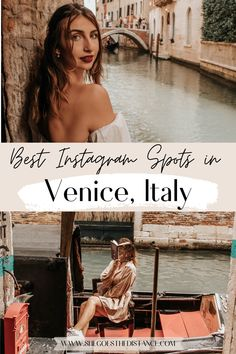 Have a picture-perfect trip to Italy by discovering the best Instagrammable places in Venice! In this guide, you'll discover the tricks to getting amazing photos at Venice's famous landmarks! You'll also discover secret hidden gem photo spots in Venice. Save this post for exact addresses to the best Instagram spots in Venice so you can achieve the most beautiful photos of Italy!