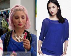 Degrassi Next Class: Season 1 Episode 6 Lola's Blue Mesh Sweater