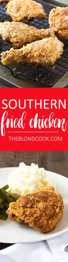 Southern Fried Chicken #BrightBites #ad