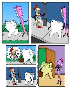Dental Humor - don't make bad choices