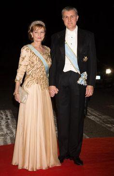 Princesa Margarita y príncipe Radu