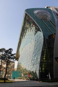 #Architecture Seoul New City Hall par iArc Architects