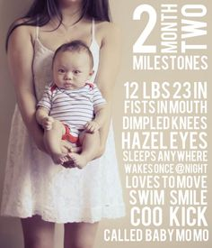 Baby's Monthly Stats