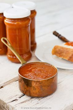 Gem de caise ~ bucatar maniac Romanian Food, Romanian Recipes, My Recipes, Cooking Recipes, Sweet Memories, Something Sweet, Moscow Mule Mugs, Preserves, Pickles