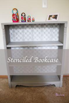 stenciledbookcase