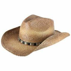Shyanne® Women's Distressed Straw Hat