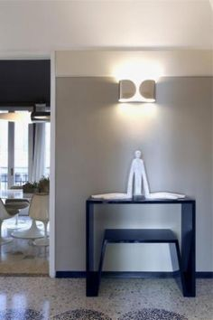 Apartment Biancamaria by Paolo Frello & Partners with Flos Foglio