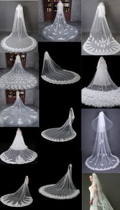 Largest collection of Elegant & Beautiful Unique Vintage And Modern Bridal Weddi. - Largest collection of Elegant & Beautiful Unique Vintage And Modern Bridal Wedding Veils & Headpiec - Veil Diy, Diy Wedding Veil, Boho Wedding Dress, Wedding Flowers, Diy Flowers, Wedding Bands, Flower Ideas, Wedding Hair, Wedding Bouquets