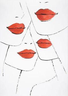 #PANDORAloves red lips