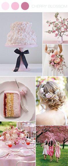 Edible petals cover entire cake