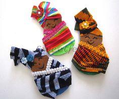 ♥♥♥  Afrikanoskas de trazer ao peito... | por sweetfelt \ ideias em feltro