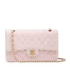 Get one of the hottest styles of the season! The Chanel Classic Flap Reissue Pink Tweed Shoulder Bag is a top 10 member favorite on Tradesy. Pink Chanel Bag, 2.55 Chanel, Vintage Chanel Bag, Chanel Bags, Tweed, Burberry Handbags, Chanel Handbags, Burberry Bags, Luxury Bags