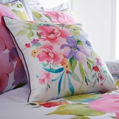 Maeve Floral Filled Cushion