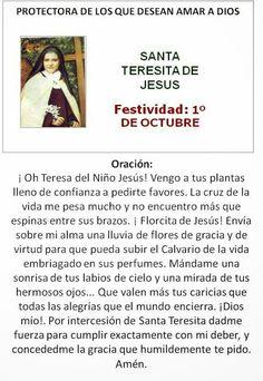 Santa Teresita de Jesús