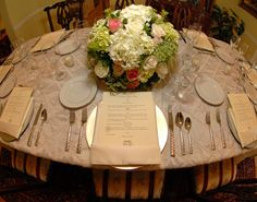 Table setting Table Settings, Table Decorations, Furniture, Home Decor, Decoration Home, Room Decor, Place Settings, Home Furnishings, Home Interior Design