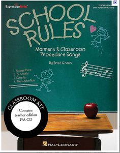 Manners and classroom procedure songs...yippee!