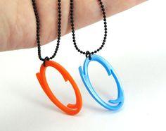 Portal necklaces!