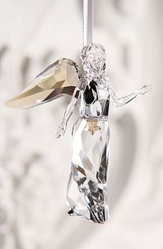 Champagne on Ice Swarovski Crystal Figurines, Swarovski Jewelry, Swarovski Crystals, Glass Figurines, Waterford Crystal, Crystal Collection, Angel Ornaments, Beautiful Christmas, Glass Art