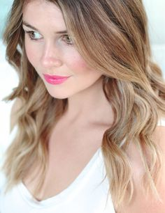 How To Get Beach Waves With A Flat Iron