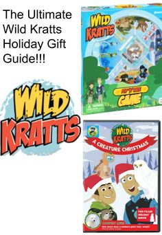 THE ULTIMATE WILD KRATTS HOLIDAY GIFT GUIDE!!!! @pbskids