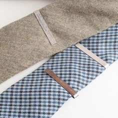Hand-made Sterling Silver Tie Bars    www.drakemen.com