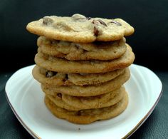 Chocolate Chip Cookies from scratch! The BEST recipe around.