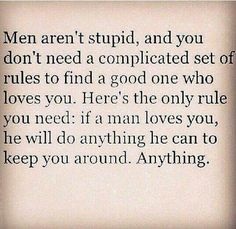Men are not as stupid as they act