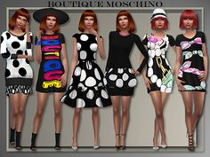 Boutique Fall-Winter 2015/2016 by Judie at All About Style • Sims 4 Updates
