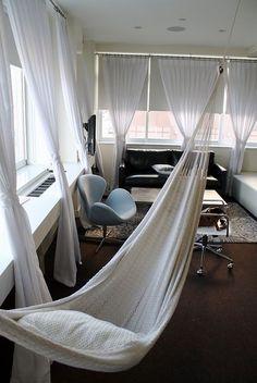 Bedroom Hammock At The Brooklyn Nu Hotel