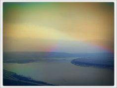 Панорама реки Томь.