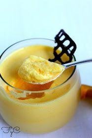 Frambuesa y Caramelo: Mousse de mango