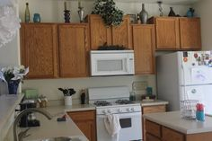 100+ Kitchen Cabinets Makeover Ideas - Diy Kitchen Countertop Ideas Check more at http://cacophonouscreations.com/kitchen-cabinets-makeover-ideas/