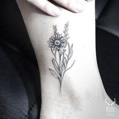 Daisy Flower Tattoo