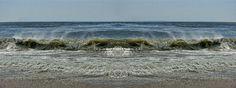 Ocean Wave Panoramic
