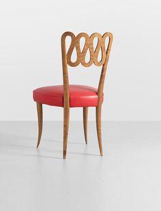 Gio Ponti Chair for Count Contini Bonacossi